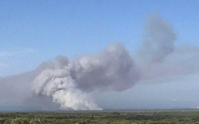 Overberg fights three devastating fires