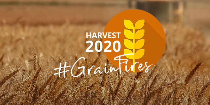 Grain farmers: Be extra vigilant against wildfires in 2020